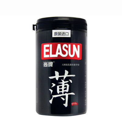 Natural Latex Rubber Condom | ELASUN 24 PCS Natural Fragrance 004 Ultrathin Lubrication Condoms Colorless Limpid - BULULU-SHOP