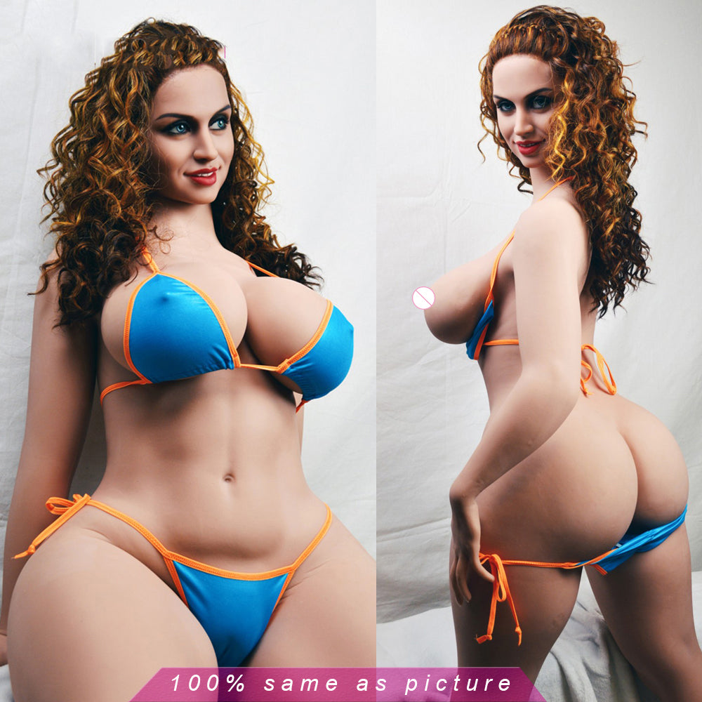 Sex Dolls TPE Silicone 163cm | Fat Huge Breast Boobs Chubby Ass Oral Vagina Anal Realistic Love Dolls for Male Masturb