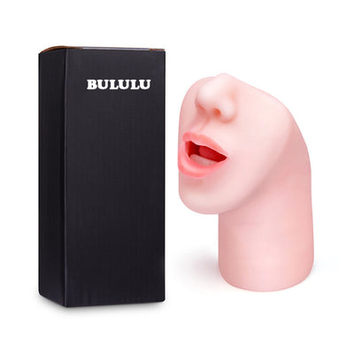 Sex Toys | Male Masturbator 3D Deep Throat with Tongue Teeth Nose - BULULU-SHOP (4290424209467)