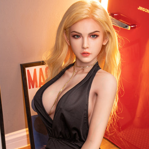 Real-life Textured Hair Plant | Realistic Silicone sex Doll Metal Skeleton Big Breast