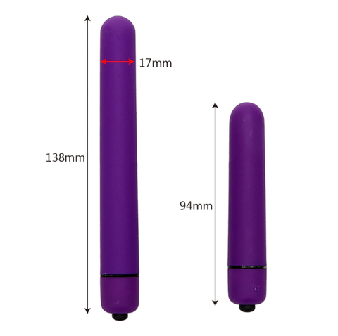 Female Masturbation Anal Vibration Adult Toys | Long Bullet Vibrator G-spot Stimulator Dildo For Women 10 Speed Body Massager