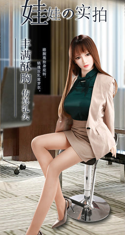 Private female secretary Solid doll silicone simulation inflatable female doll  | beautiful women friends living sexy | Send a luxury spree