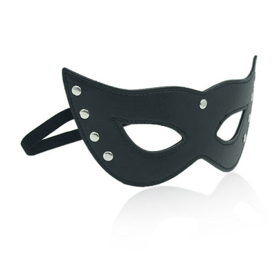 Sexy Lingerie Hot Cosplay Eye Masks | Black Hollow leather Mask Erotic Costumes Women - BULULU-SHOP