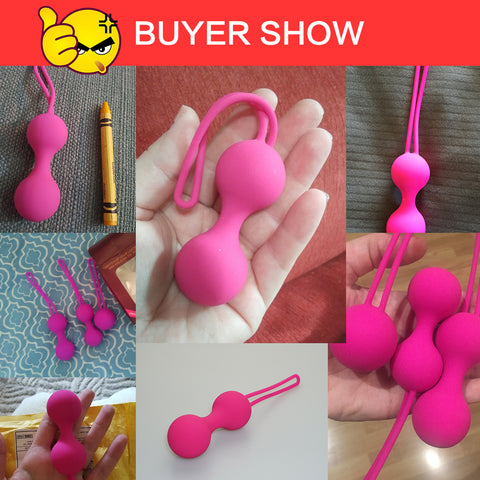 Sex toys Tightening Exerciser | Vaginal Balls Trainer Sex Toys for Woman Silicone Vaginal Chinese Balls Ben 10 Kegel Balls