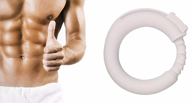 Sex Toys For Men Chastity Cockring | Adjustable Silicone Cock Ring Delay Penis Rings Fixed Foreskin O-Ring Male Chastity Device - BULULU-SHOP