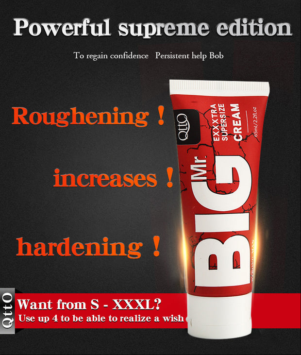 Penis Enlargement Cream 65ml Increase Xxl Size Erection Products Sex Products for Men Aphrodisiac Pills for Man - BULULU-SHOP
