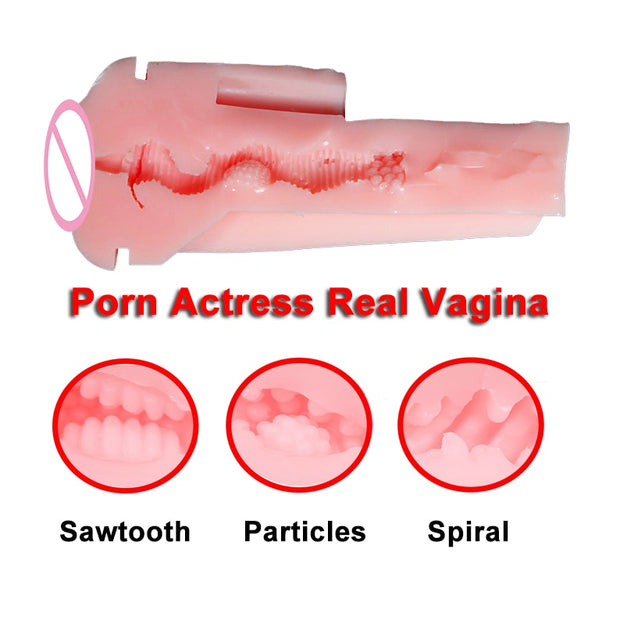 Porn Sex Machine | Masturbator for Men Vibrator Vagina Voice Sex Toys for Adults Erotic Goods Adult Toys - BULULU-SHOP (4337346805804)