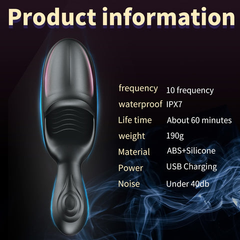 Masturbation Cup | Sex Toys for Men Male Masturbator Automatic Electric Penis Pump Vibrator Oral Climax Delay Stimulate