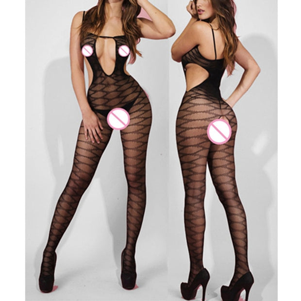 Sexy Lingerie Porno Sexy Costumes Erotic Langerie | Transparent Plus Size Women - BULULU-SHOP