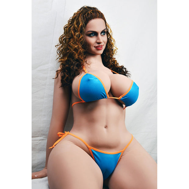 Sex Dolls TPE Silicone 163cm | Fat Huge Breast Boobs Chubby Ass Oral Vagina Anal Realistic Love Dolls for Male Masturb - BULULU-SHOP