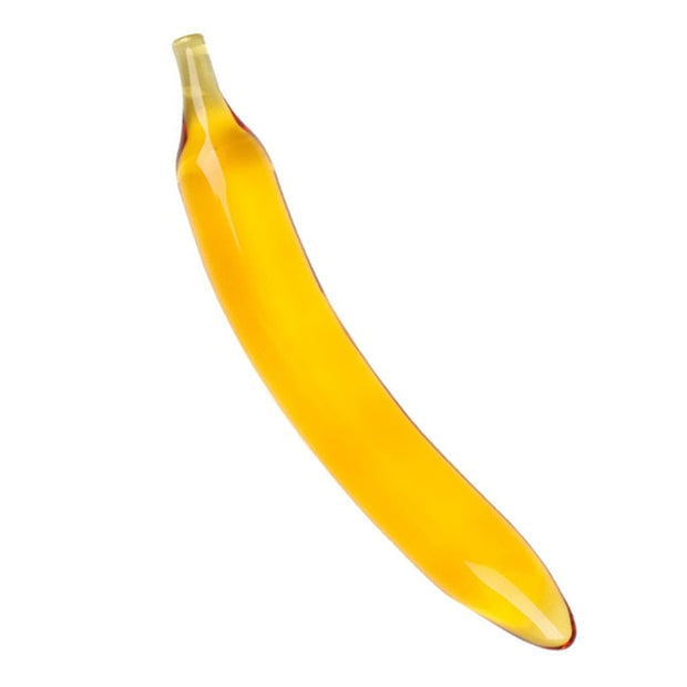 Fruit Vegetable Shape Female Masturbation | Pyrex Glass Dildo - BULULU-SHOP (4337072144428)