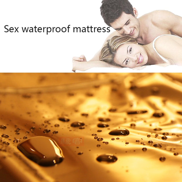 Waterproof Adult Bed Sheets Sex PVC Vinyl Mattress Cover | Sex Game Bedding Sheets - BULULU-SHOP