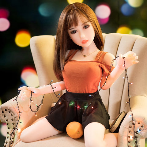 100cm Sex Dolls Real Adult Big Breast Vagina TPE Love Dolls | Skeleton Silicone Sex Doll Sex Toys