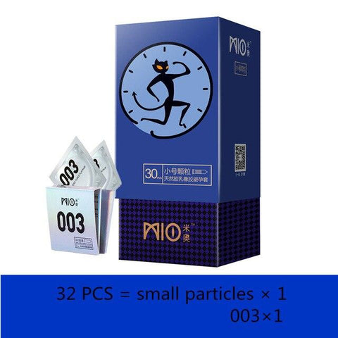 Sex Toys Products | Small Condoms size for Men 49mm spike dotted Condom Delay Ejaculation Big Particle Stimulation Ultra Thin