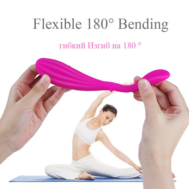 Female Masturbate Sex Toy for Adult | 10 Modes Vibrator for Couples G-Spot Stimulate U Type Wireless Silicone Dildo Panties - BULULU-SHOP (4316347334700)