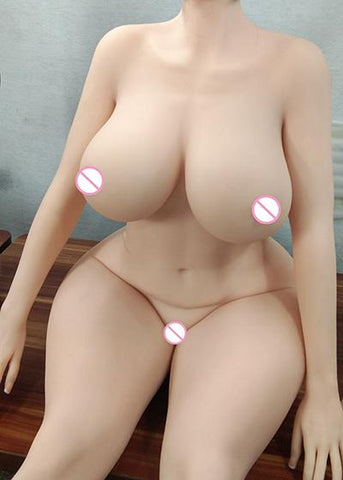 146CM N-CUP Lifelike Real Sex Doll | Full Size Silicone with Skeleton Love Doll Oral Vagina Pussy Anal