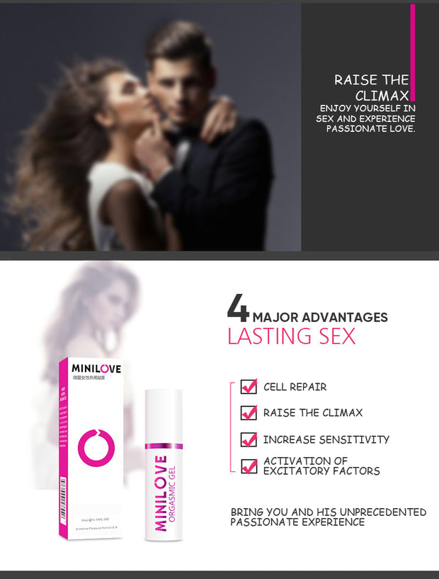 Female Aphrodisiac | Intense Orgasm Gel 15ml Sex Drop Exciter for Women | Vagina Libido Enhancer - BULULU-SHOP (4172878970939)