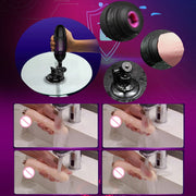 Dildo for Women Masturbation Toy Adult Product | 7 Multi-Speed Retractable Wireless Vibrator Sex Machine with Heating Dildo - BULULU-SHOP