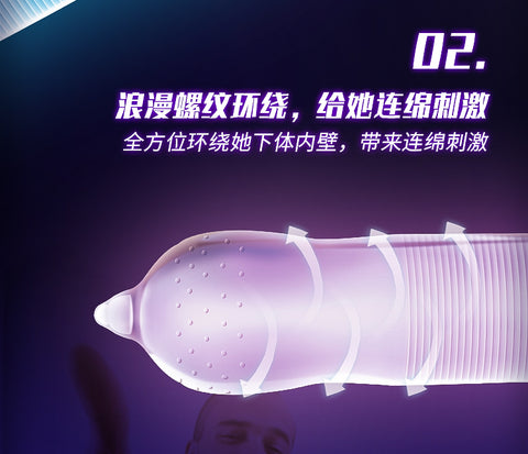 Sleeve Sex For Men  50PCS | Condom 3 Types Ultra Thin Cock Condom Intimate Goods Sex Products Natural Rubber Latex Penis