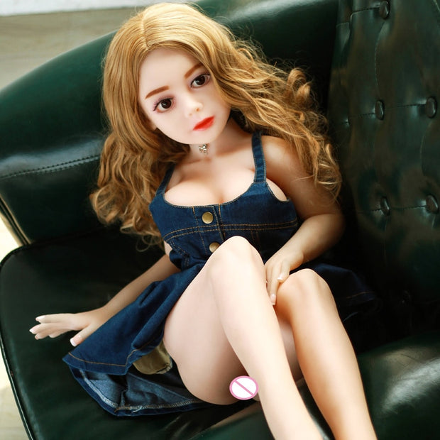 100cm Real Life Silicone Sex Doll Lifelike Breasts Vagina Anus Full TPE Skeleton Male - BULULU-SHOP (4334152515628)
