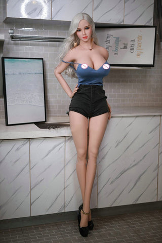 170cm Full Size Sex Doll | Big Breast Butt Sexy Doll For Men Masturbator Realistic Vagina Anal Pussy Oral Adult Love Doll