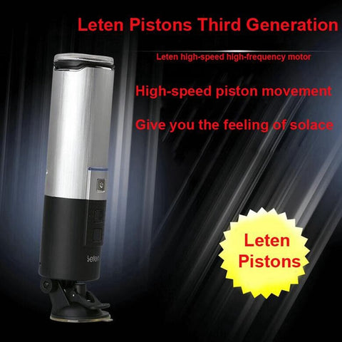 Full Automatic Pistion Aifcraft Cup Powerful Blowjob Sex Machine | Telescopic Hands Free Male Masturbator