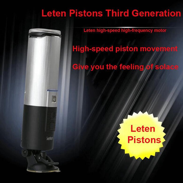 Full Automatic Pistion Aifcraft Cup Powerful Blowjob Sex Machine | Telescopic Hands Free Male Masturbator - BULULU-SHOP (4426670014508)