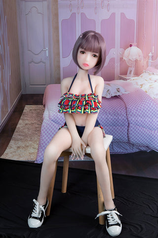 Smart Sex Doll 100cm | Real Life Silicone Realistic Breasts Vagina Anus TPE Metal Skeleton