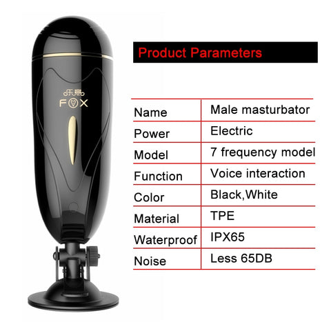 Electric Male Masturbator For Men | Automatic Pocket Vagina Real Pussy Blowjob Dual Mode Adult Male Sex Toys