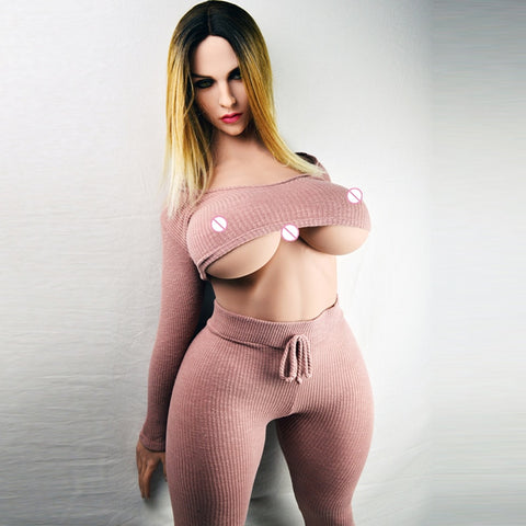 Lifelike Silicone Sex Doll Big Tits Chest Huge Fat Ass Mixed Blood Exotic Cool Girl New Sex Toy | Real Pussy 163cm (5.35ft)