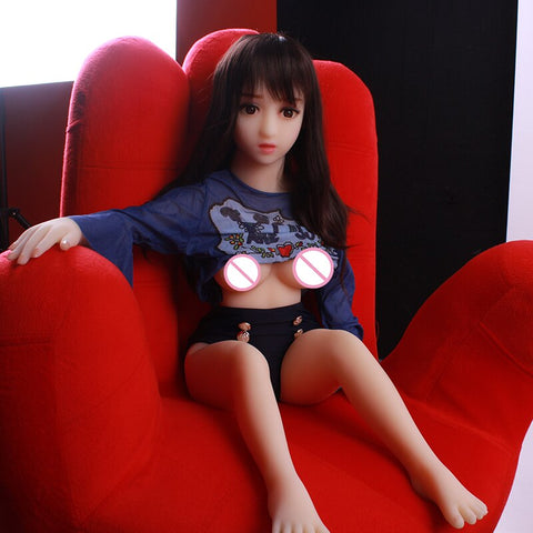 Adult Sexy Toys | Lifelike Pussy Sex Doll Realistic 100cm Mini Vagina Big Breast Mini Love Doll 100% Tpe Ass Real Silicone Doll