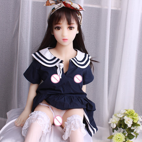 Sex DOLLS 100cm | Mini Sex Doll Silicone Vagina Tpe Love Doll Silicon Japanese Anal Sex For Men Low Price