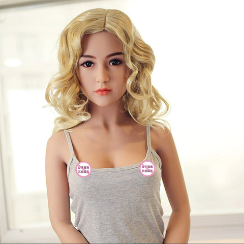 Sex Doll Small Breast Realistic Vagina Silicone Full Tpe Sex Doll Real Pussy Adult Love Dolls For Men Toys | Boneca Sexual 140cm