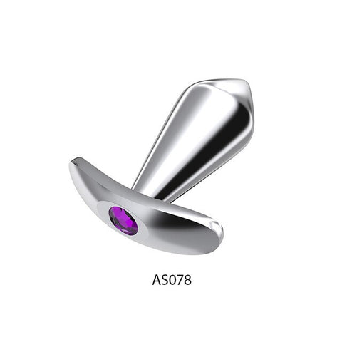 Big Crystal Anal Toys Butt Plug Stainless Steel Anal Plug Sex Toys for Women | Adult Sex Products Plug Anal Beads