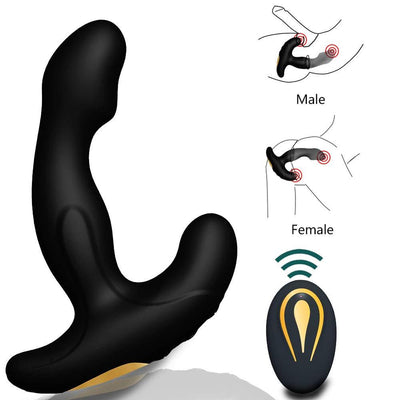Gay Sex Toys Prostate Stimulator Vibrator | Male Prostata Massager Dildo Anal Plugs Silicone Wireless Vibrator Prostate Massage - BULULU-SHOP (5095986888748)