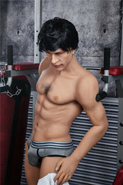 Silicone male dolls realistic penis sex doll | gay lifesize silicone sex doll for women 162cm tall - BULULU-SHOP