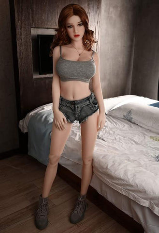 Silicone Sex Doll 145cm | Realistic Anime Sex Doll Normal Size Boobs Tpe Love Doll Sex Toys