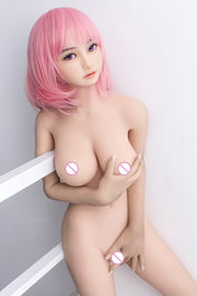 125cmReal Silicone Sex Dolls | Top Skeleton Adult Love Doll Vagina Lifelike Pussy Japanese Realistic Sexy Doll Big Breast - BULULU-SHOP