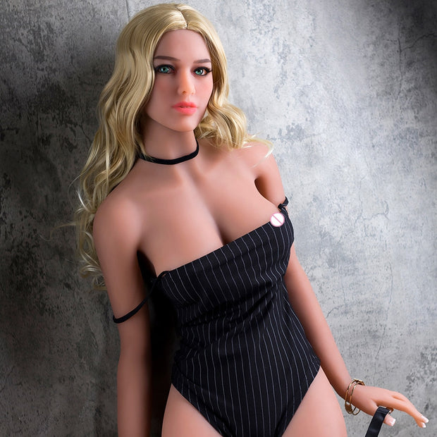 Real silicone sex dolls | Perfect Figure life size European medium size breast love sex doll with Lifelike Oral Anal Vagina - BULULU-SHOP