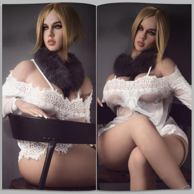 Top Quality Real Silicone Sex Dolls 168cm | Lifelike Full Big Breast Love Doll Oral Vagina Pussy Adult Sexy Toys - BULULU-SHOP (5490727747752)