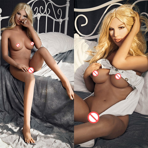 Real Silicone Sex Dolls | Men's Realistic Sex Doll Lifelike Europe Blond Beauty LOVE Doll Real TPE Dolls