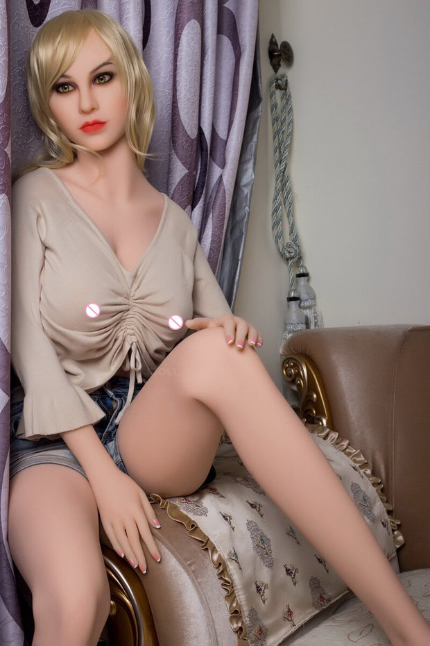 145cm Lifelike Real SexDoll | Full Size Silicone with Skeleton Love Doll Oral Vagina Pussy Anal Adult Doll - BULULU-SHOP