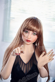 Silicone real sex doll | Asian Japanese lifelike sex doll 163cm adult sex doll realistic nipple breasts vagina - BULULU-SHOP