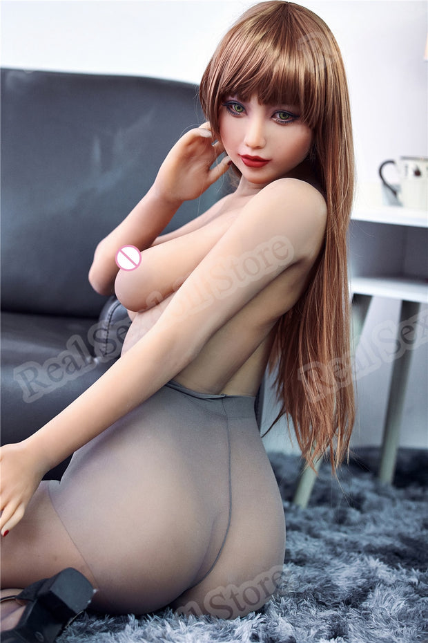Silicone real sex doll | Asian Japanese lifelike sex doll 163cm adult sex doll realistic nipple breasts vagina - BULULU-SHOP (5820537340072)