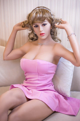 Realistic Implant Hair Solid Real Silicone Sex Doll | Lifelike Vagina Anus Adult Love Doll