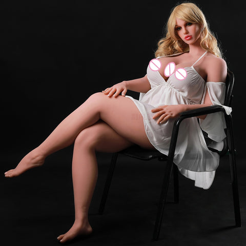 Silione Fat Doll 165cm | Full Size Sex Dolls Huge Breast and Ass Realistic Vagina Oral Anal lifelike Adult Doll