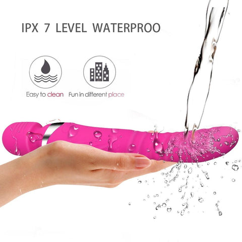 AV Vagina Stimulator | Heating Stretch Dildo G Spot Vibrator for Woman Powerful Adult Sex Toys Personal Clit Massager Magic Wand