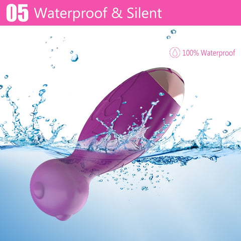 G Spot Strap on Vagina Ball Vibrators Sex Toys | Remote Control Silicone Pressure Sensor Bullet Egg Vibrators for Women