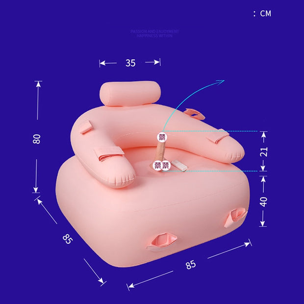 Inflatable sofa Female masturbation For women Erotic Sex Furniture Sexy Bed Adult Couples Games Stimulate Sex Toys free shipping - BULULU-SHOP (4393624928300)