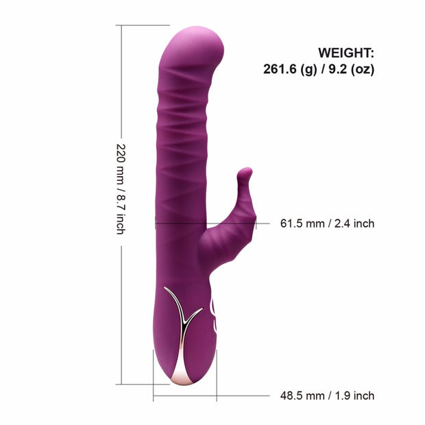 Adult Sex Toy | Automatic Thrusting Pulsator G Spot Dildo Vibrator - BULULU-SHOP